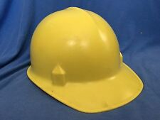 Vintage FIBERGLASS HARD HAT Construction Helmet Industrial Jackson Products Oil