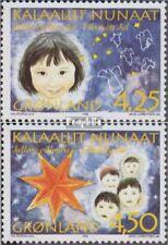 Denemarken - Groenland 297x-298x (compleet Editie) postfris MNH 1996 Kerstmis