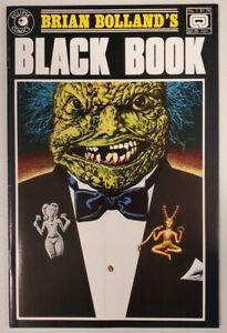 BRIAN BOLLAND'S BLACK BOOK #1 (ECLIPSE 1985) VF++/NM-