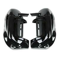 "Lower Vented Leg Fairings+6.5"" Speaker Grills Fit For Harley Electra Glide 83-13"