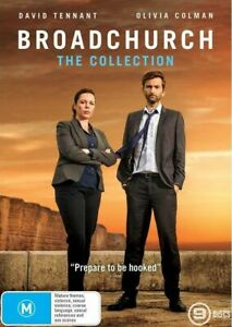Broadchurch Series The Complete Collection Season 1-3 1 2 3 DVD Set Region 4 R4