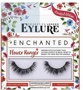 Eylure Enchanted Lashes Flower Ranger + Lottie Glitter Fix Balm + Lash Glue