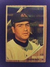 1962 Topps Baseball Card # 456 Joe Amalfitano - Houston Colt .45's