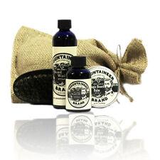 Mountaineer Brand® Complete Beard Care Kit (WV Coal Scent) Shampoo, Balm, Oil