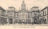 POSTCARD    LONDON    Whitehall  The  Royal  Horse  Guards