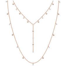 Penelope Cruz Moonsun Layer Necklace Rose Gold 2019 Swarovski Jewelry 5486650