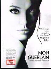 E- Coupure de Presse Clipping 2017 (4 pages) Parfum Mon Guerlain histoire Jolie