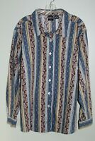 """""""ERIKA"""" LONG SLEEVE  BLOUSE, CAREER BUTTON FRONT TOPS, SIZE 3X NWT"""
