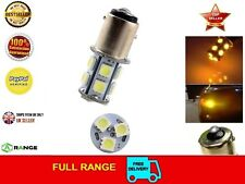 AMBER 1156 BA15S P21W 382 5050 LED 13 SMD Car Tail Indicator Turn Tail Lights