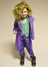 Kids Deluxe The Dark Knight Joker Costume with Wig
