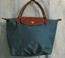 Women's LONGCHAMP Blue Nylon Small Handbag Bag