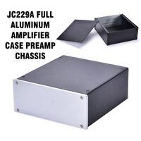 JC229A Full Aluminum Amplifier Case Preamp Chassis DAC Box PSU Enclosure NEW