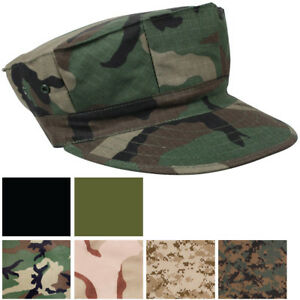 Marines Military Utility Cover 8 Point Fatigue Hat BDU Cap USMC Uniform Camo