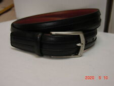 Johnston & Murphy - Men's Black Leather Belt - $59.50 - NWOT