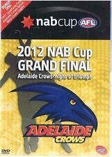 Adelaide Crows 2012 NAB CUP GRAND FINAL + Bonus v West Coast Eagles 1997 QF NEW