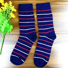 1Pairs Womens Socks Lot Classic Cotton Stripes Casual Dress Socks 20*19cm DWZ103