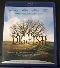 Big Fish (Blu-ray) Tim Burton. Like New Condition