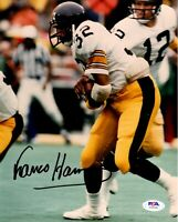 Franco Harris autographed signed 8x10 photo NFL Pittsburgh Steelers PSA COA