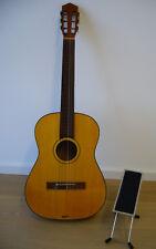 4/4 Konzert Gitarre Höfner Classic (Made in Germany) inkl. Fußtritt