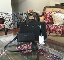 NWT,Kate Spade New York Fordham Court Lise Leather Lace Edge Handbag+Wallet $502