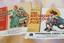 Saturday Evening Post Norman Rockwell 12 Month Calendars '06 & '08, Set of 2