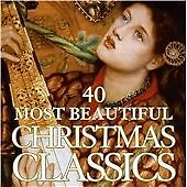 40 Most Beautiful Christmas Cl -40 Most Beautiful Christmas Cl New CD