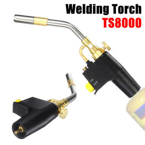 TS8000 Bernzomatic Style Blow Torch Kit Brazing Soldering Mapp Gas Map Propane