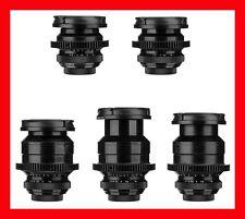 @ 5x Carl Zeiss Jena TEVIDON Lens Set 16 25 35 50 70 BlackMagic BMPCC GH4 GH5 @