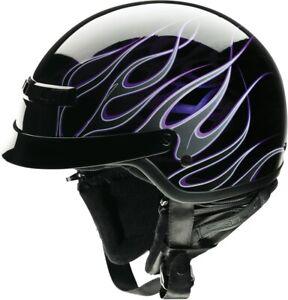 Z1R Nomad Hellfire Black/Purple Helmet Adult 2XS-2XL