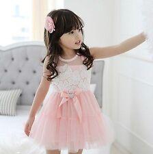 Unbranded Sleeveless Dresses (Newborn - 5T) for Girls