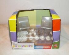 THE KALEIDOSCOPE HOUSE BOZARD THE KITCHEN KIT BAR STOOLS & DINNERWARE 1:12 SCALE