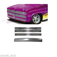 A ChassisTech C10 81-87 Roll Pan Front GMC Phantom Billet Grille upper/lower
