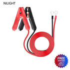 2pcs 30a Alligator Clips Booster Jumper Cable Fit Car Battery Charging Charger 6