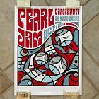 Pearl Jam Poster 10-01-14 Cincinnati Don Pendleton Mint