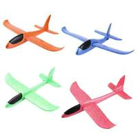 /LOT 4pcs Foam Plane Glider DIY Aircraft Manual Throw Fly Model Outdoor Kids Toy