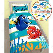 Alla ricerca di Nemo Dory Singolo Pannello Copripiumino Federa Set Bambini Biancheria Da Letto Camera Da Letto