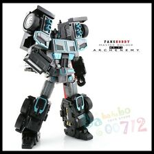 Transformers toy FansHobby MB-01 Archenemy Scourge Black Optimus Prime New
