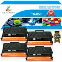 4 PACK Toner Compatible with Brother TN-850 HL-L6200DW MFC-L5850DW MFC-L5900DW