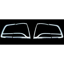 Chrome Tail Light Lamp Cover 4pc Set For 10 11 Kia Sorento R