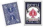 Vuota Faccine Bicycle Carta Mazzo Blu dietro Truccate Trucco Di Magia