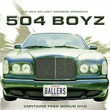 Ballers by 504 Boyz (CD, Dec-2002, No Limit Records)(Edited)