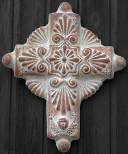 Kreuz Cross - Terrakotta Keramik - Wanddekoration - handmade in Mexiko