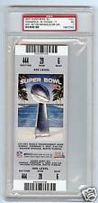2007 SUPER BOWL XLI PSA NMT 7 FULL TICKET SILVER VARIANT COLTS BEARS NFL FOOTBA