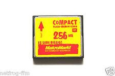 256 MB MakroMarkt CF Compact Flash Speicherkarte für Digital Kameras