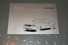 1998 Mercedes Benz CL500 CL600 CL 500 600 Owners Manual - BOOK