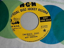 ROY ORBISON~TWINKLE TOES~RARE PROMO~WHERE IS TOMORROW~MGM~ NEAR MINT~~ TEEN 45