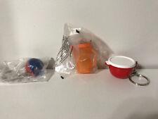Tupperware Mini Magnet Keychains Shape Sorter Pitcher Bowl & Lid  NEW Lot Set