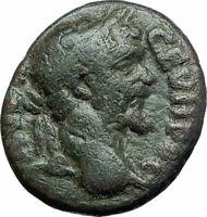 SEPTIMIUS SEVERUS Authentic Ancient Nicopolis ad Istrum Roman Coin APOLLO i79434