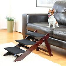 Wood Pet Steps & Ramp - 2 in 1 Wooden Pet Steps Ramp