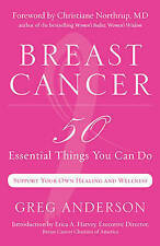Breast Cancer: 50 Essential Things to Do,Greg Anderson,New Book mon0000057776